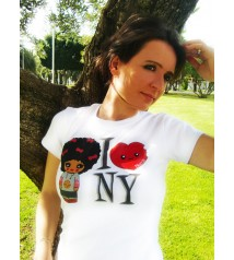 T-shirt - I love NY (white)