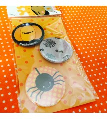 spillette halloween (pacco da 3 - pins a scelta)